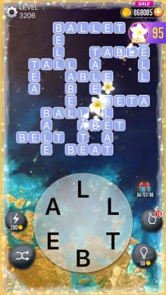 Word Crossy Level 3206 Answers