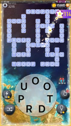 Word Crossy Level 3215 Answers