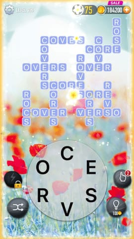 Word Crossy Level 356 Answers