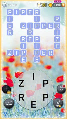Word Crossy Level 357 Answers
