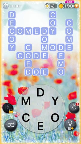 Word Crossy Level 360 Answers