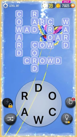 Word Crossy Level 387 Answers