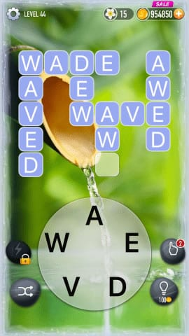 Word Crossy Level 44 Answers