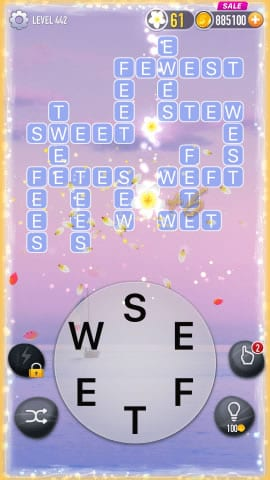 Word Crossy Level 442 Answers