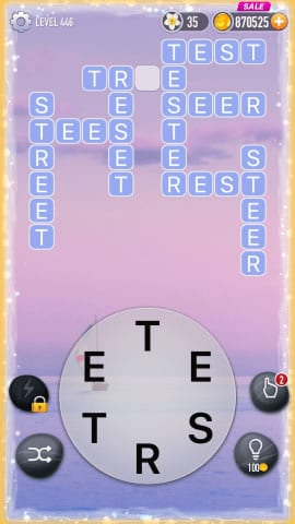 Word Crossy Level 446 Answers