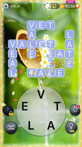 Word Crossy Level 45 Answers