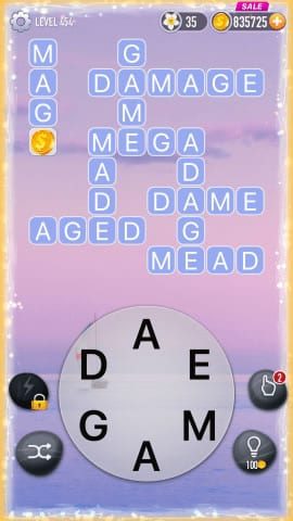 Word Crossy Level 454 Answers