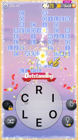 Word Crossy Level 479 Answers