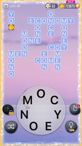 Word Crossy Level 482 Answers