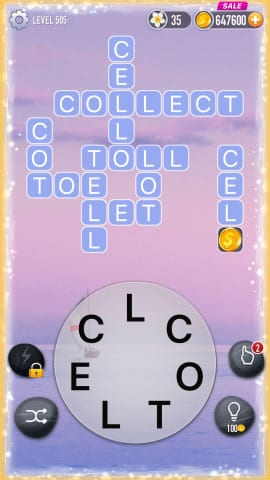 Word Crossy Level 505 Answers