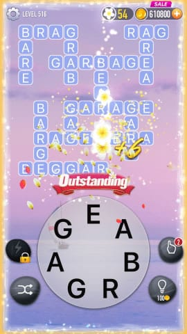 Word Crossy Level 516 Answers