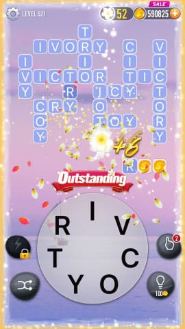 Word Crossy Level 521 Answers
