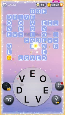 Word Crossy Level 526 Answers