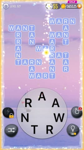 Word Crossy Level 527 Answers