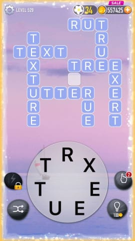 Word Crossy Level 529 Answers