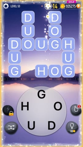 Word Crossy Level 53 Answers