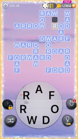 Word Crossy Level 536 Answers