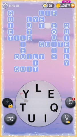 Word Crossy Level 558 Answers