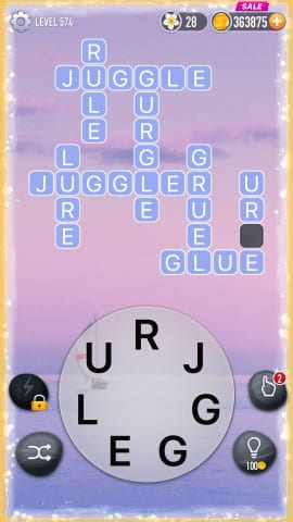 Word Crossy Level 574 Answers