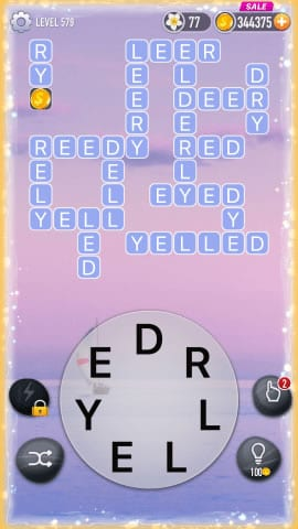 Word Crossy Level 579 Answers