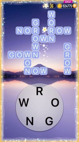 Word Crossy Level 58 Answers