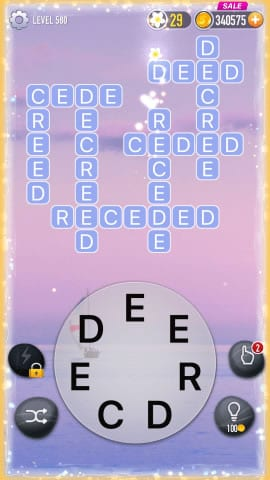 Word Crossy Level 580 Answers