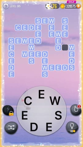 Word Crossy Level 585 Answers