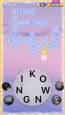 Word Crossy Level 592 Answers