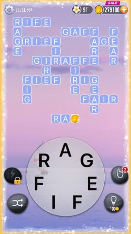 Word Crossy Level 594 Answers