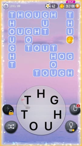 Word Crossy Level 598 Answers