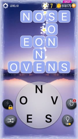 Word Crossy Level 61 Answers