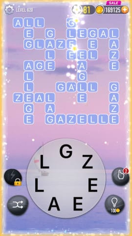 Word Crossy Level 620 Answers