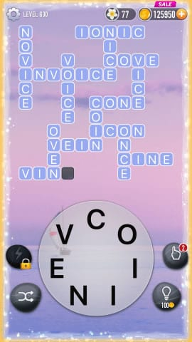 Word Crossy Level 630 Answers
