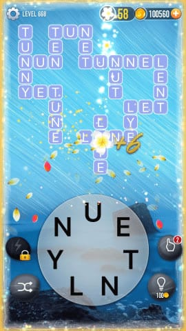 Word Crossy Level 668 Answers