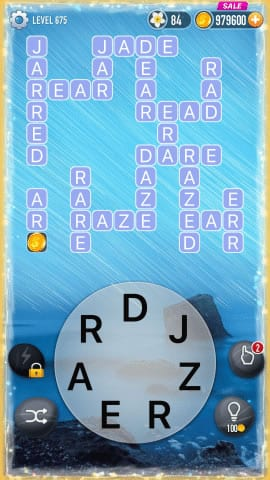 Word Crossy Level 675 Answers