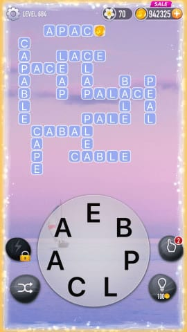 Word Crossy Level 684 Answers