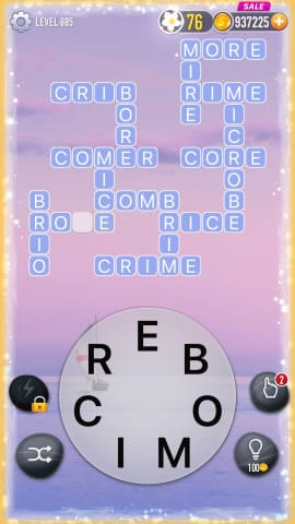 Word Crossy Level 685 Answers