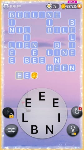 Word Crossy Level 687 Answers