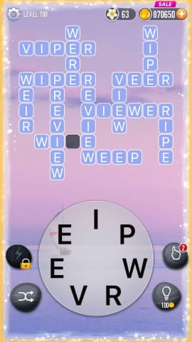 Word Crossy Level 700 Answers