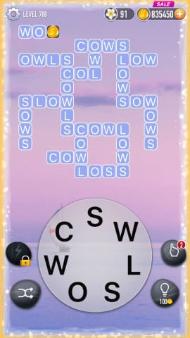 Word Crossy Level 708 Answers