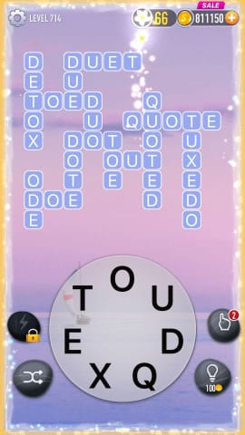 Word Crossy Level 714 Answers
