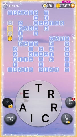 Word Crossy Level 717 Answers