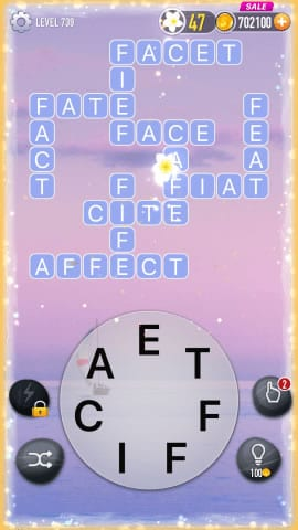 Word Crossy Level 739 Answers