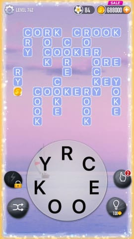 Word Crossy Level 742 Answers