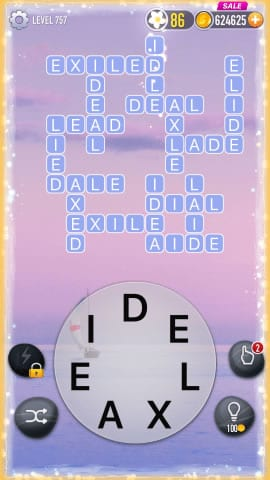 Word Crossy Level 757 Answers