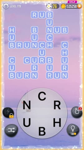 Word Crossy Level 779 Answers