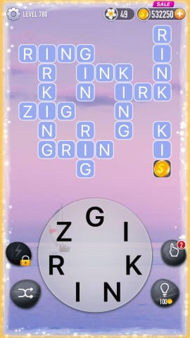 Word Crossy Level 780 Answers