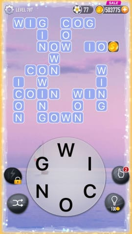 Word Crossy Level 787 Answers