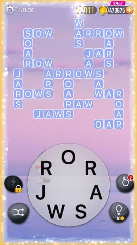 Word Crossy Level 795 Answers