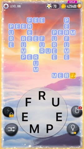 Word Crossy Level 806 Answers